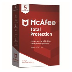 Antivirus mcafee total...