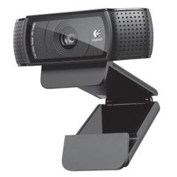 Webcam logitech c920 negra...