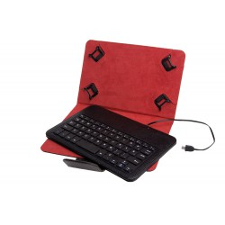 Funda universal + teclado...