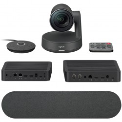 Webcam logitech rally plus...